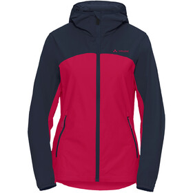VAUDE Moab Giacca Donna, crimson red